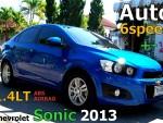 Chevrolet Sonic 1.4LTปึ2013 ABS AIRBAG มีBook service รถบ้านป้ายเชียงใหม่ ออโต้6เกียร์มี+-ให้เล่นด้วยประหยัดเติมE20ครับ
